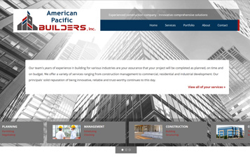 website for construction businesses