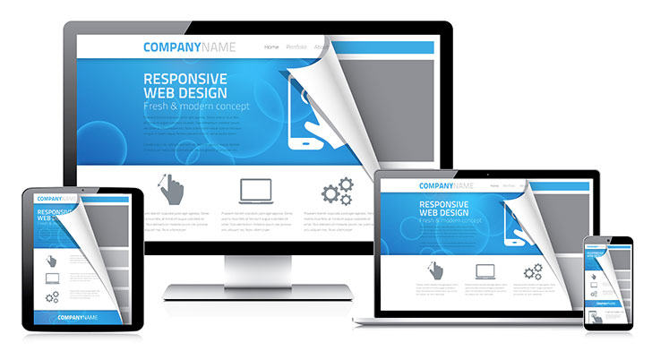 Responsive Designs For Websites With Mmobile Device Adaptive Layouts Santa Rosa Sonoma County California